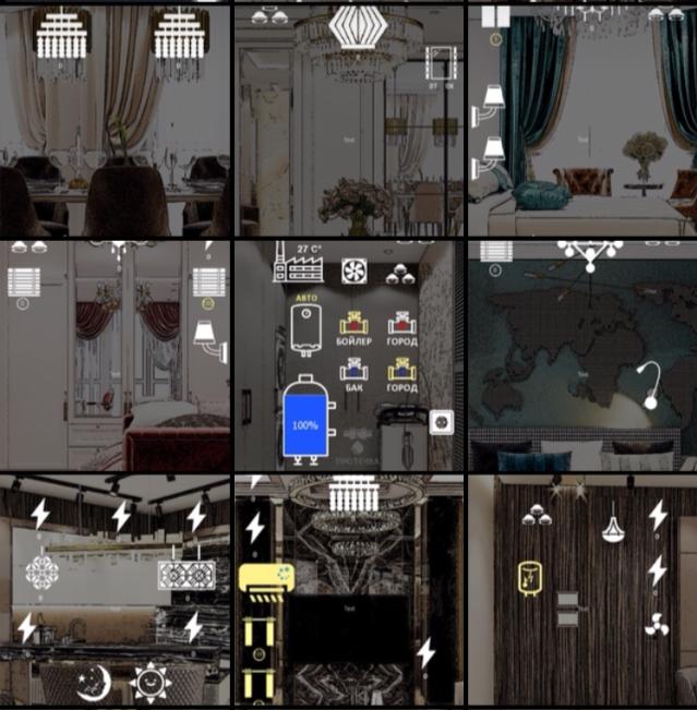 Ассоциативный Графический Интерфейс (АГИ) на базе iRidium mobile