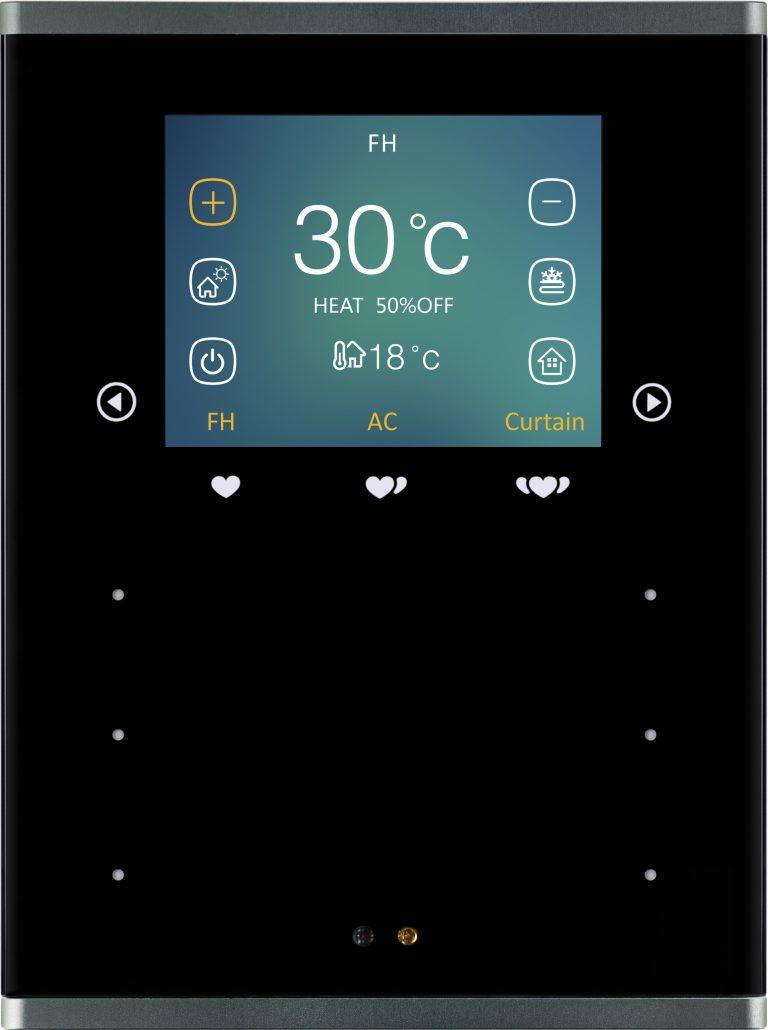HDL Prism Pro сенсорная панель black